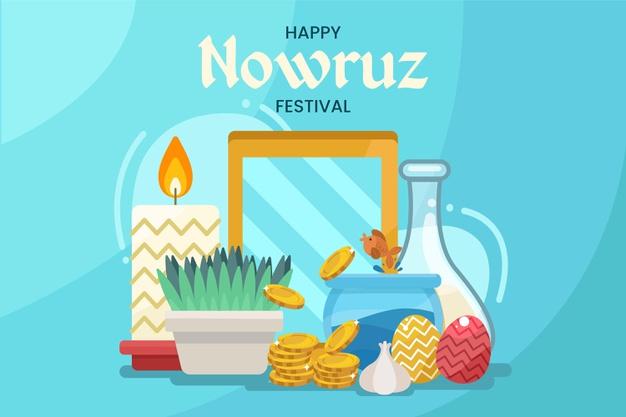 وکتور سال نو مبارک عید نوروز 1400