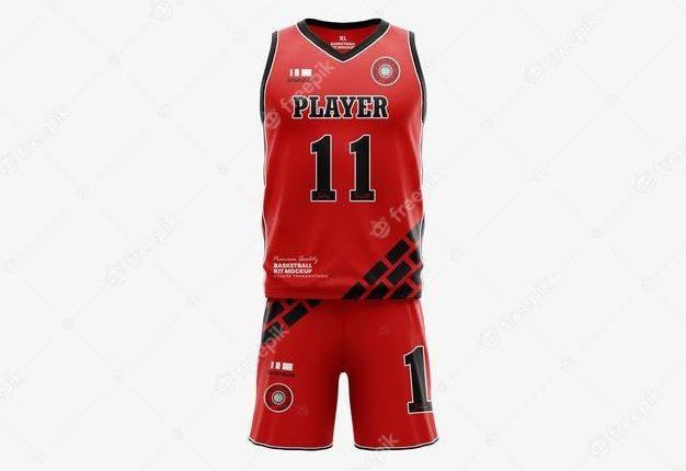 موکاپ لباس تیم بسکتبال لایه باز